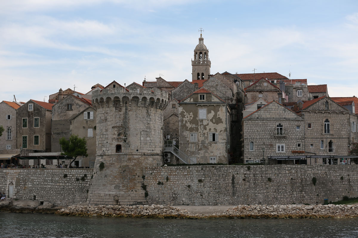 Korcula-view-from-catamaran-(photo-by-Ma
