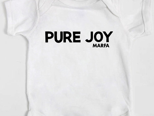 Pure Joy Onesie