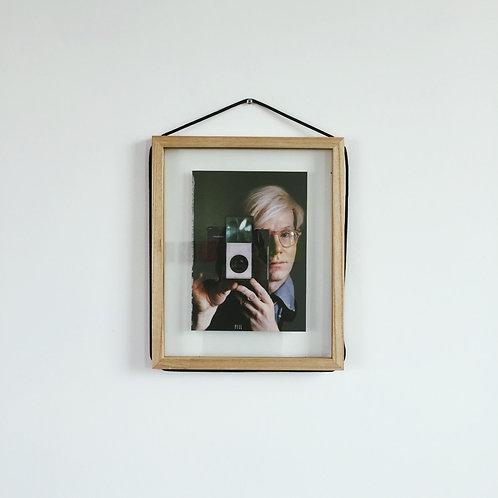 Andy Warhol 1988 Playboy Polaroid Ad w flash pull tab pull