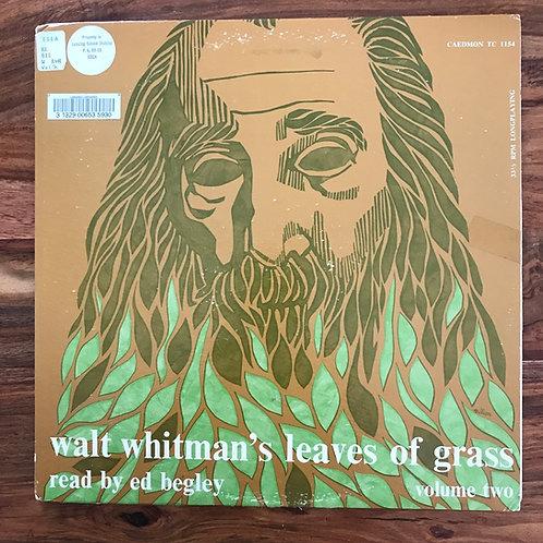 Walt Whitman, Leaves of Grass, Volume 2, LP