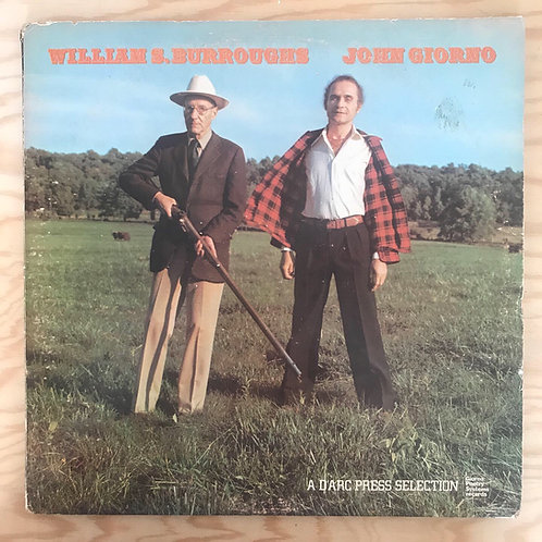 William S  Burroughs / John Giorno Lp