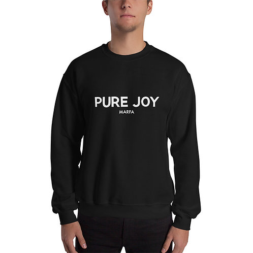 Pure Joy Sweatshirt B/W
