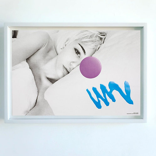 Visionaire 64 : Baldessari print : Miley Cyrus