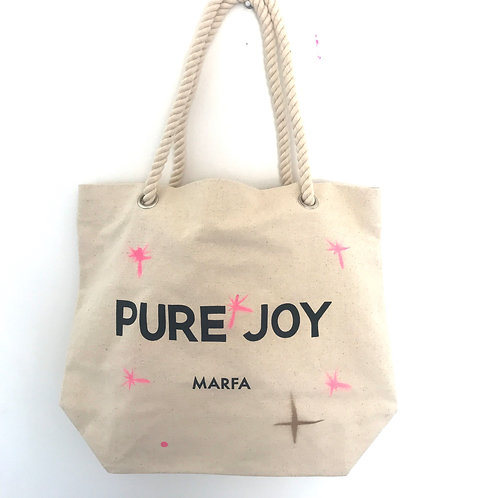 Limited Edition Custom Pure Joy Rope Tote No.4