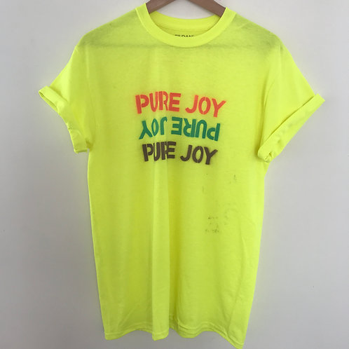 Custom Pure Joy X 3 short sleeve tee-shirt