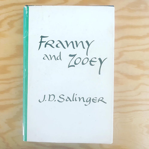 Franny and Zooey by J.D. Salinger, first edition Hardcover