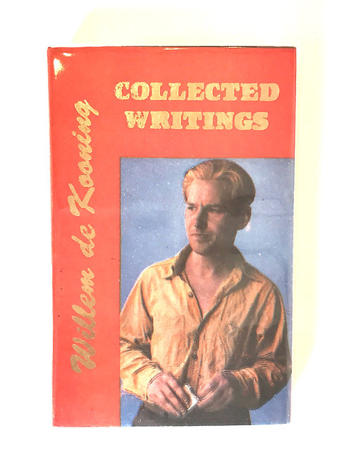 Willem de Kooning, Collected Writings
