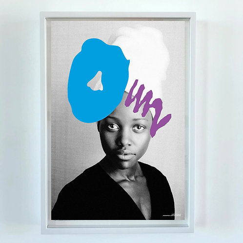 Visionaire 64 : Baldessari print : Lupita Nyongo