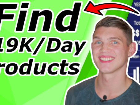 Dropshipping Product Research Find Winning  Products [$19K Per Day]