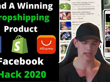 How To Find A Winning Products For Dropshipping | Shopify 2020