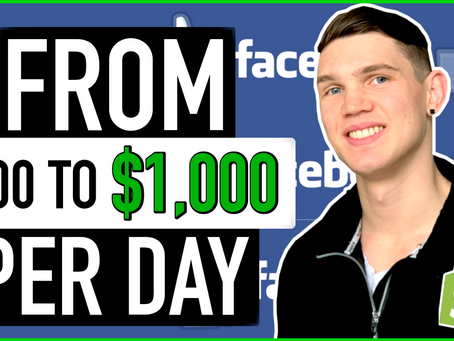 Scaling Products From $100 To $1,000 Per Day Facebook Ads