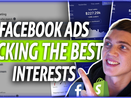 Best Interests To Target - Dropshipping Facebook Ads