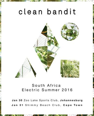 Clean Bandit - Live Dates Poster