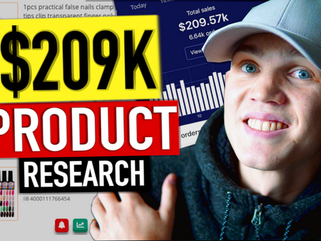 Dropshipping Product Research - Find Winning Products