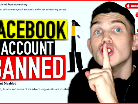 FACEBOOK ACCOUNT DISABLED - HOW TO CREATE A NEW ONE (without getting banned)