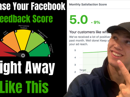 How To Increase Your Facebook Page Feedback Score | 2020 Feeback Score Hack