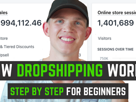 How DROPSHIPPING Works & How To MAKE MONEY From It | Step By Step For BEGINNERS