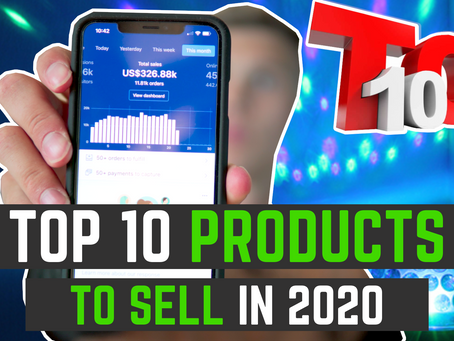 Top 10 Dropshipping Products 2020 | Shopify Product Research