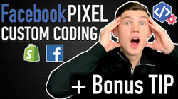 HOW To ADD Facebook PIXEL To SHOPIFY - C