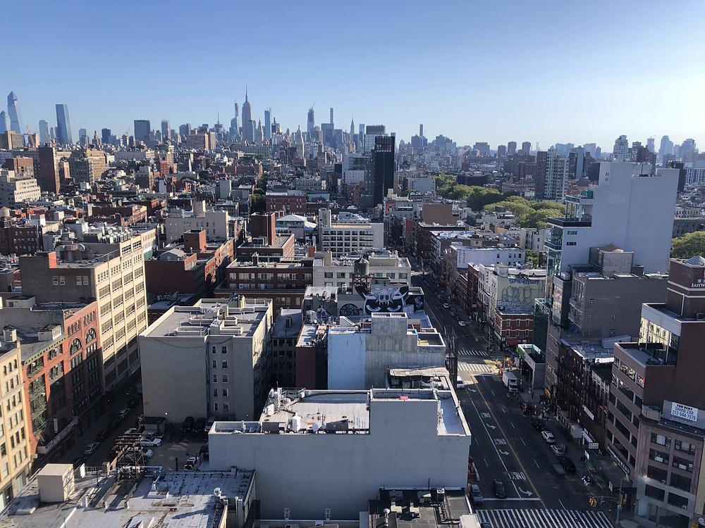 英語コーチングONE WAYスタッフ紹介Midori ニューヨークの景色