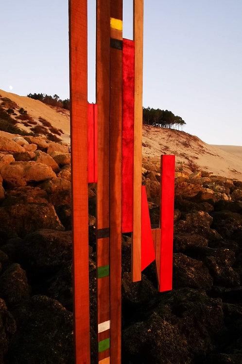 Blood Lines Sculpture