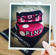 15th birthday cake, vanilla bean cake wi