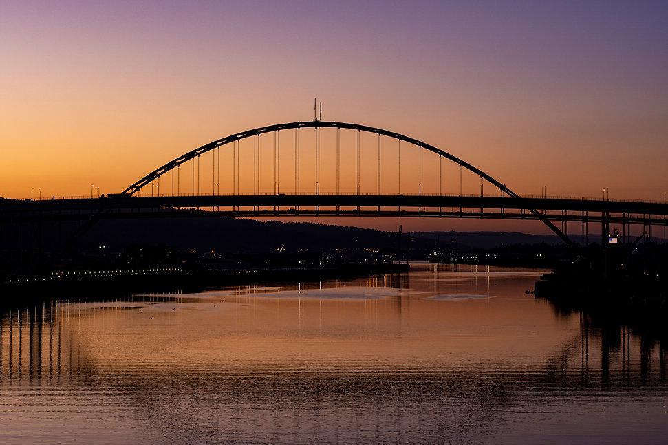 Fremont Bridge Sunset 01.jpg