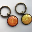 מחזיק מפתחות EMERGY צהוב וכתום