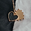 Thumbnail: Personalizable Heart Plate Charm Earring by Padme Designs