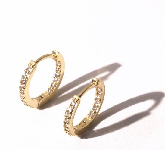 Diamond Hoops for Earrings & Pendants