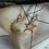Thumbnail: Diamond Moon Charm Earring by Padme Designs