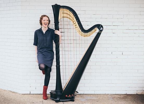 Salvi Harp Alis Huws Harpist Wales