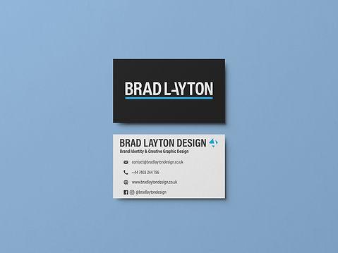 BradLaytonDesign Mockup_business cards v
