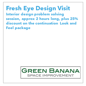 At Green Banana we visualize, design and source solutions to enhance your space so it matches your lifestyle. We are happy to take you from Fresh Eye advice through to an entire renovation.
