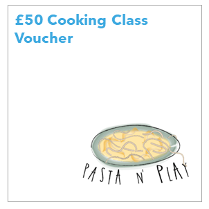 Pasta n' Play aims to educate people about how much fun can be to cook together with family and friends. Cooking together is a bonding experience that brings people closer. It also educate families and kids to eat healthier.