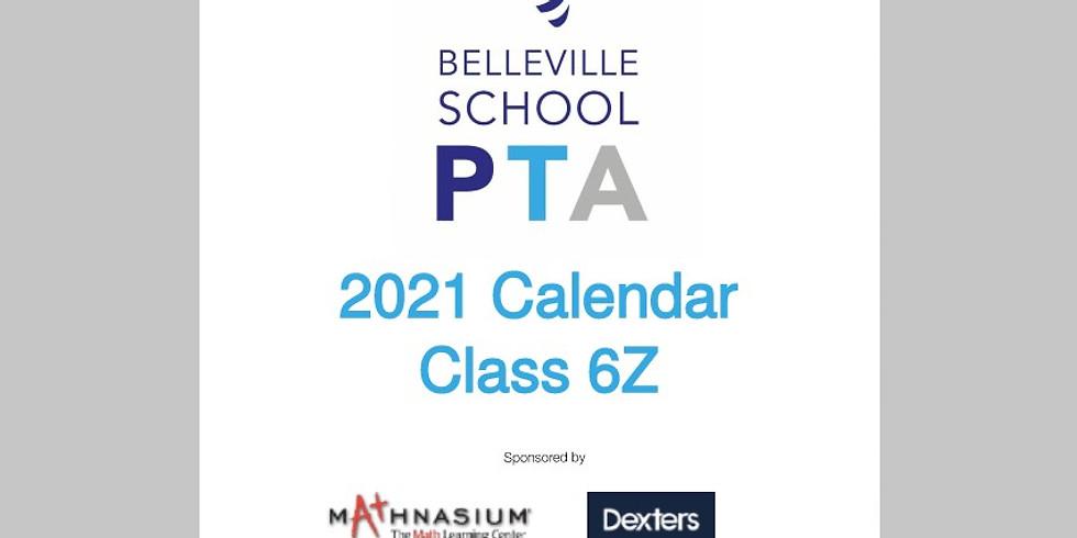 Class Calendar Sale