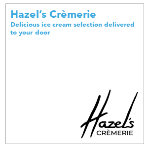 Hazel's Cremerie develops handmade ice cream treats for you and your loved ones. The ice cream is made in-house and the cookies baked to perfection.