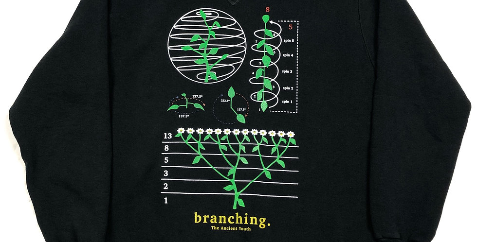 branching. crewneck - large