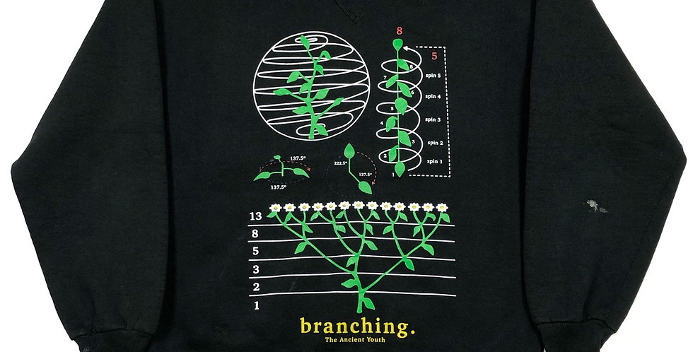 branching. crewneck - medium