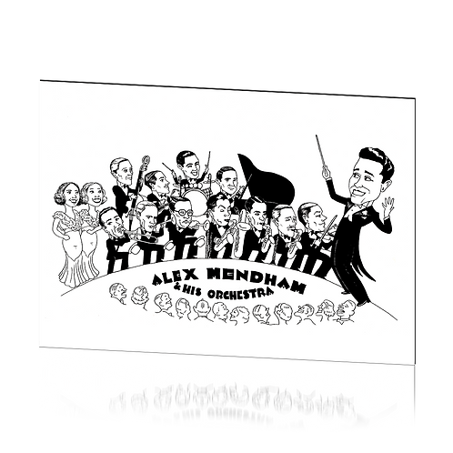 Official Caricature - Print