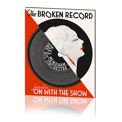 The Broken Record - Print