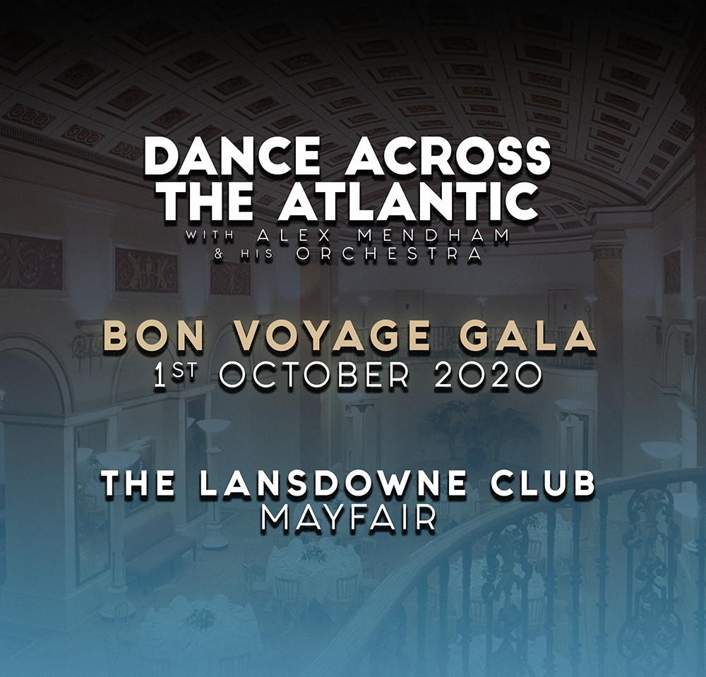 Bon Voyage Dance - Buffet Dinner Supplement