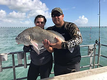Large fish caught on the Danny B