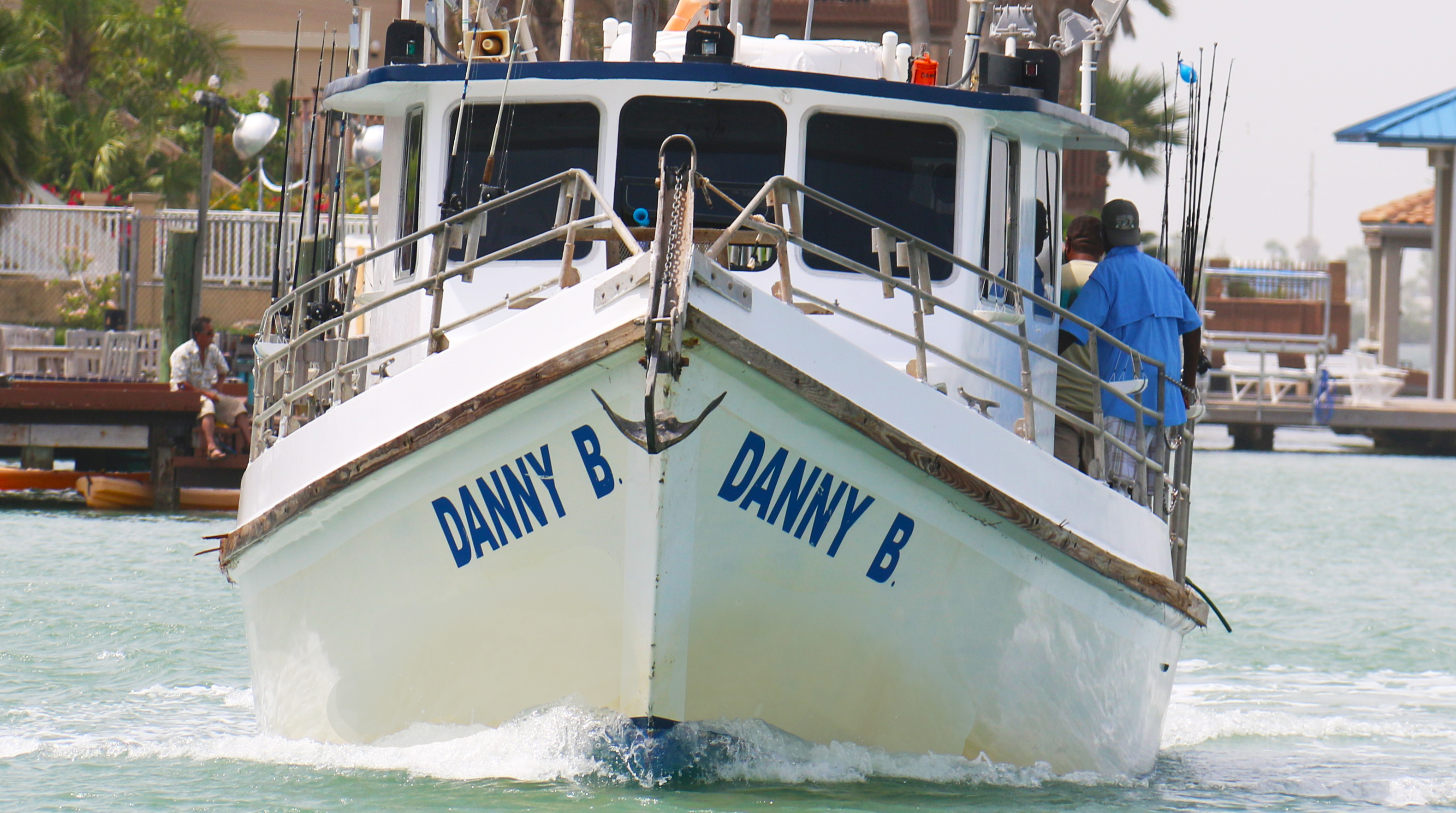 Bay fishing on the Danny B