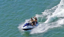 Jet Ski one rider of 2 for 1/2 hour