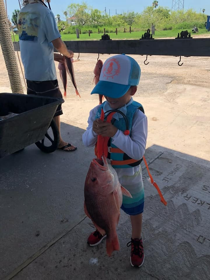 Kids Fishing South Padre Island