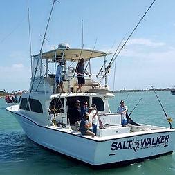 Salt Walker Fishing Charters South Padre Island, TX.