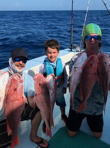 Kids Fishing South Padr Island