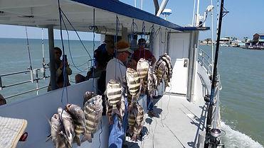 Fishing on the Laguna Madra Bay with Danny B