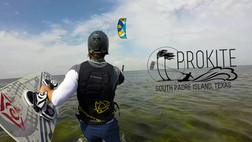 Kiteboarding South Padre Island, TX.